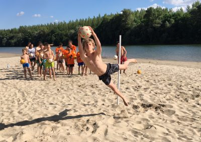 diving exercise, goalkeeping camp zemne, slovakia
